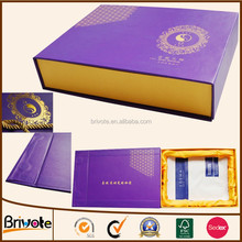 Customized handmade cardboard jewelry custom box