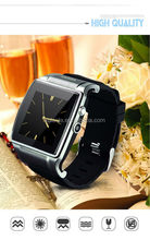 2015 new design bluetooth smart watch touch screen watches with SIM card