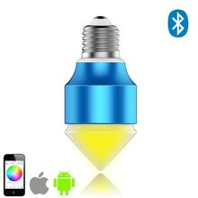 customized,low cost e27 rgb led bulb lighting for art galleries control by SmartPhone