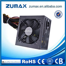 CE Rohs ZUH750 Active PFC 87 Plus Gold PC Power Supply 750W 24 pin atx power supply