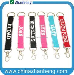 2015 Promotional Fashion design item printing metal key chains / silver key chains