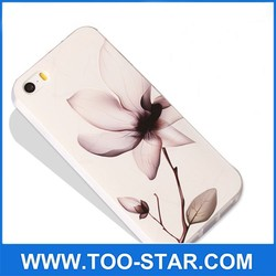 3D sublimation TPU blank mobile phone cover for iphone 6/6plus