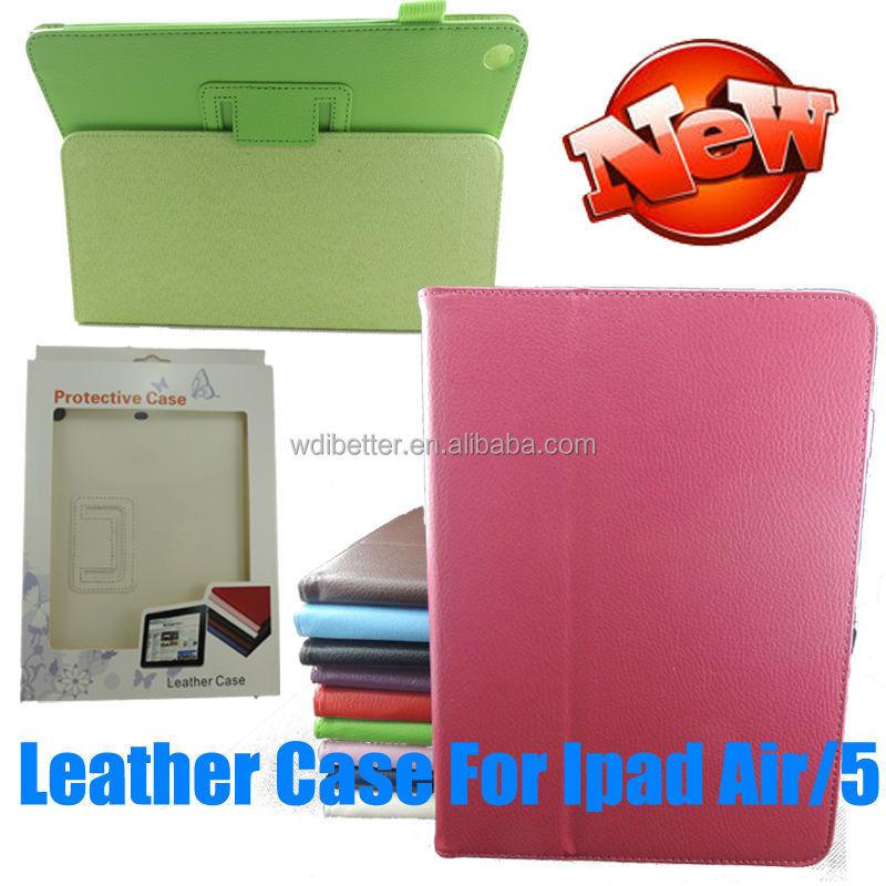 Customized Latest For ipad5 Wrap Smart Case