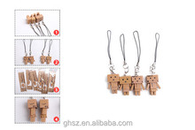 Wholesale Lovely Danboard Danbo Keychain Doll Mini PVC Action Figure Toys 3cm / 5cm