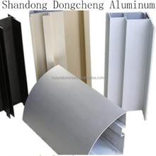 sandblasting aluminium profile building construction material