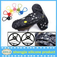 2014 flexible abrasion resistance rubber non-slip snow shoe cover anti slip shoe cover