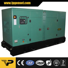 Silent type diesel generator TP350C6S 250kw/312kva 60Hz powered by Cummins engine