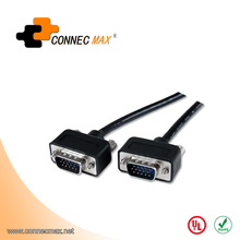 UltraThin VGA HDTV HD15 SVGA Cable With ferrites