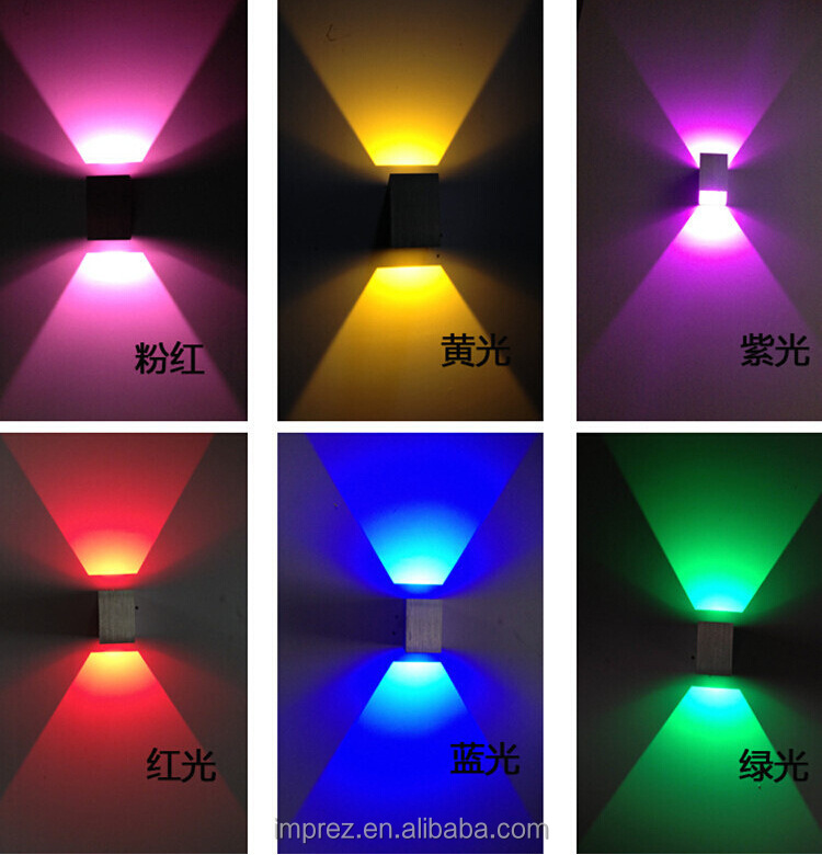 Up and down led wall light 1x3w wall led spot light recessed in 18303666641221825426g aloadofball Image collections