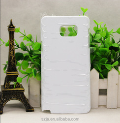 2D 3D Thermal transfer Smooth matte case for note 5 Custom Print Blank Sublimation case for samsung note 5