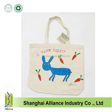 Natural Cotton Canvas Hand Painted Tote Bags