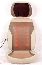 Healthy and easily to clean car kneading massage cushion with infrared heat