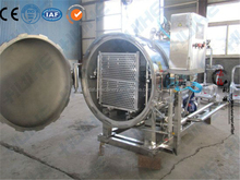 Superfine and sturdy autoclave water spraying tunnel food sterilizer