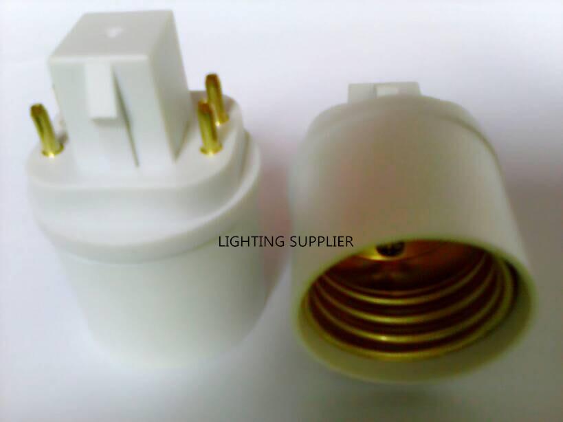 Преобразователь ламп FULL MATCHER 40pcs G24Q E26/E27 G24Q/3 E27/E26, E27/E26 4PIN, gx24q/3 , E27/E26 gx24q/1 G24 to E27
