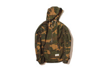 1/2 Zip Camouflage Jacket Forest Camo Clothing Military Uniform For Men