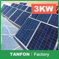 stand alone kit solar 3000W / 5KW off grid solar system price / off-grid 20000W solar power generator