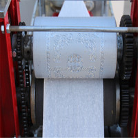 787mm Waste Paper Recycling Machine to Make Sanitary Napkin, ISO9001