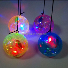 65mm Flashing Hi Bouncing Water Ball with Fish Floating Inside