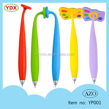 Novelty school pen for children made in China silicone pen