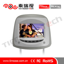 7 inch Car LCD Headrest Monitor with touch button