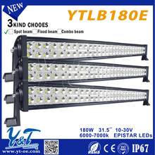 180w 31.5inch ip68 Factory outlet!12V24V LED lightsLight on Motorcycle,off road SUV