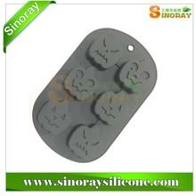 Silicone Mold for Holloween Pumpkin