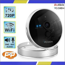 1MP P2P audio wifi baby monitor alarm input ip camera 720P home security system wireless IP camera