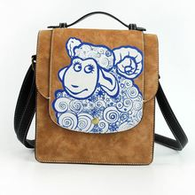 Chinese New Year of the Goat style bag casual bag Messenger bag retro radiant Features