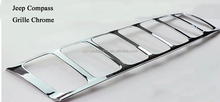 88 Compass Chrome Grille for Jeep Compass auto accessories Chrome accessories
