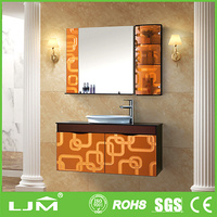 distributor of chinese products office in china red tube sex wooden floor standing vanity cabinets bathroom