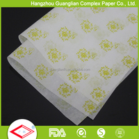 Custom Logo Greaseproof Printed Parchment Paper for Baking