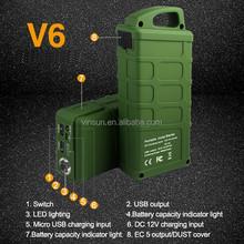 Army Boots Green Vinsun V6 Jump Starter, New Arrival 13500mah Power, Lipo Jump Starter
