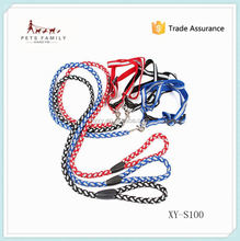 pet products dogs led dog leash leather dog leash