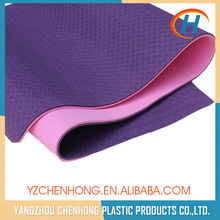 2015 custom tpe yoga mat, yoga mat 6mm, gymnastics mat folding