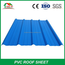 Good Anti Corrosion Trapezoidal Type PVC Roof Tile Sheet