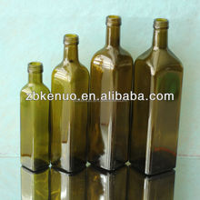 square olive oil bottle 250ml/500ml/750ml/1000ml