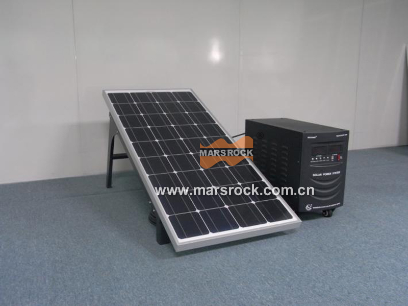 Portable Mini 100W Solar Power System for Home use