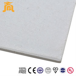 100% Asbestos Free Light Weight Excellent Fireproof Rate Fiber Cement Air Ducting Board