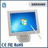 CARAV 4 wire computer monitor white touch screen monitor 12 inch lcd monitor