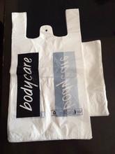 custom t shirt printing plastic shopping bag on alibaba China