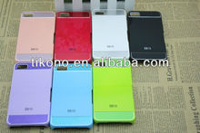 Hard double color clear plastic case for blackberry z10