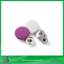 Sinicline Factory Matte Painting Garment Snap Button