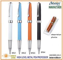 mid/common level heavy metal roller pen, office/school/business pen, fashion cap off pen RP-816