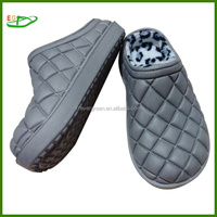 Newest Factory Winter EVA warm Clogs , with fur lining