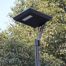 15W street solar light all in one design with pir sensor 1500lm