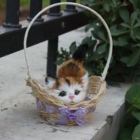 Economic antique plush toy cat design