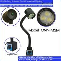 ONN-M3M Magnetic Base Flexible Pipe Working Led Machine Light
