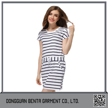 New Design Fashion Low Price Pink Hand-woven Dress