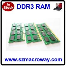 Low density 2 pieces 2x8GB ram memory ddr3 16gb