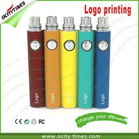 2015 E Cigarette Evod VV Battery, Evod Twist Battery, Micro 5 pin USB passthrough battery evod e-cig